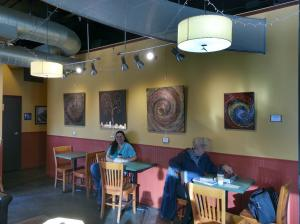 Angelina Vick Fine Art At Nixons Coffee House